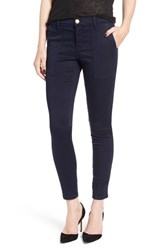 Current Elliott Women's 'The Station Agent' Skinny Twill Pants Navy