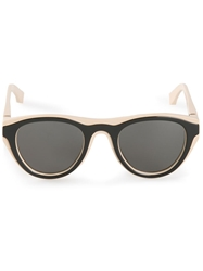 Mykita Mykita X Maison Margiela 'Mmdual002' Sunglasses Nude And Neutrals