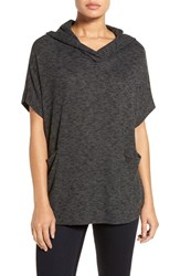 Gibson Women's Short Sleeve Poncho Top