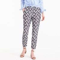 J.Crew Petite Seaside Pant In Ikat