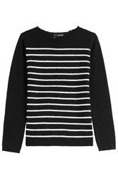 The Kooples Wool Cashmere Striped Sweater Stripes