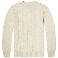 Edwin Shackle Crew Knit Ecru