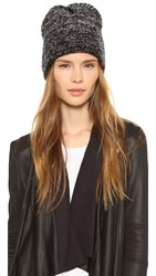Bickley Mitchell Slouchy Beanie Black Twist