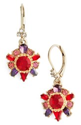 Marchesa Women's Regal Affair Drop Earrings
