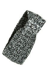 Echo Sequin Knit Head Wrap Grey Light Heather Grey