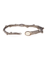Twig Bracelet With Diamond And Moonstone Michael Aram