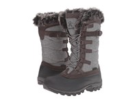 Kamik Snowvalley Charcoal 1 Women's Cold Weather Boots Gray
