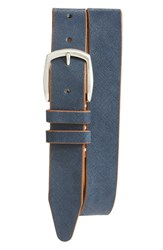 Allen Edmonds Men's 'Hampton Ave' Belt Blue