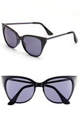 Women's Isaac Mizrahi New York 51Mm Retro Sunglasses Black