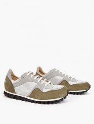Spalwart Olive Suede Marathon Trail Sneakers