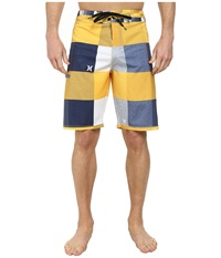 Hurley Phantom Heathered Kingsroad Boardshort University Gold Men's Swimwear Yellow