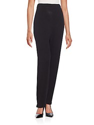 Zang Toi Knit Wool Pencil Pants Black