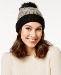 Inc International Concepts Skip Stitch Beanie Only At Macy's Black