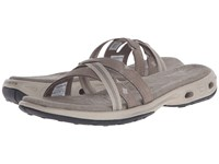 Columbia Inagua Vent Slide Pebble Pumice Stone Women's Sandals Gray