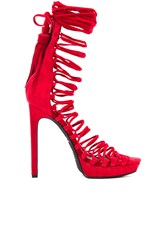 Jeffrey Campbell X Revolve Advert Heel Red
