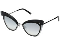 Marc Jacobs 100 S Palladium Gray Silver Shaded Lens