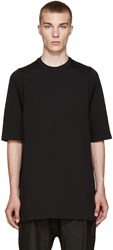 Rick Owens Black Oversized T Shirt