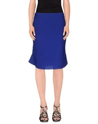Emporio Armani Skirts Knee Length Skirts Women Blue