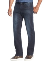 Sean John Big And Tall Patch Pocket Hamilton Relaxed Fit Jeans Indigo Wash