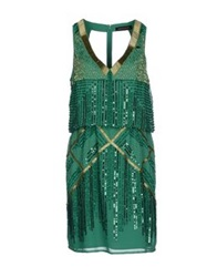 Mangano Short Dresses Emerald Green