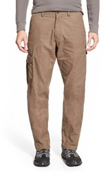 Fjall Raven Men's Big And Tall Fj Llr Ven ' Vik' Cargo Pants Taupe