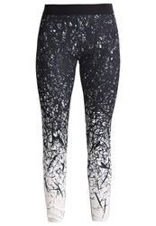 Reebok Spike Tights Chalk Black