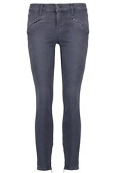 Current Elliott The Silverlake Low Rise Skinny Jeans Dark Denim
