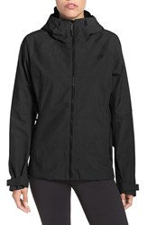 The North Face Women's 'Fuseform' Hooded Waterproof Jacket Tnf Black Fuse