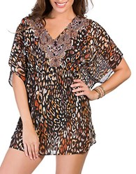 Miraclesuit Cats Meow Caftan