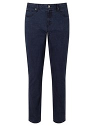 John Lewis Saltmarsh Washed 5 Pocket Trousers Navy