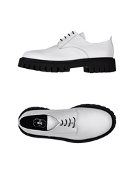 Bruno Bordese Lace Up Shoes White