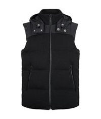 Porsche Design Knitted Down Gilet Black