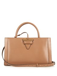 Loewe Barcelona Leather Tote Camel
