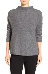 Eileen Fisher Women's 'Boucle Bliss' Cashmere And Silk Blend Funnel Neck Sweater