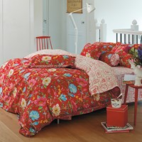 Pip Studio Chinese Garden Duvet Set Red King