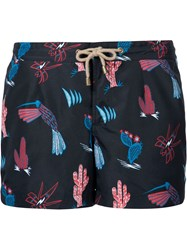 Thorsun 'Mexican Hawaiian' Board Shorts Black