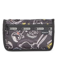 Le Sport Sac Lesportsac Peanuts Collection Travel Cosmetic Bag Chalkboard