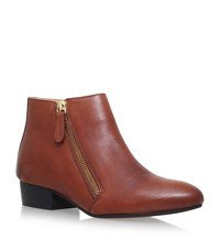Kg By Kurt Geiger Sally Ankle Boots Female Tan