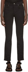 Etoile Isabel Marant Black Two Tone Haven Jeans