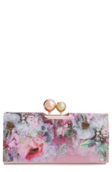 Ted Baker Women's London 'Pure Peony' Leather Matinee Wallet