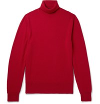 Tom Ford Cashmere Rollneck Sweater Red