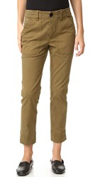 Ayr The Cargo Pants Army Green