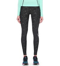 Sweaty Betty Zero Gravity Stretch Run Leggings Cabana Print