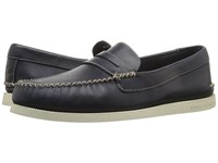 Sperry A O Wedge Penny Navy Men's Lace Up Moc Toe Shoes