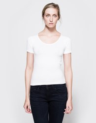 Rag And Bone Melrose Tee In Bright White