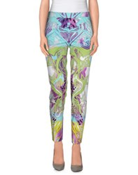 Emilio Pucci Trousers Casual Trousers Women Acid Green