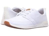Reef Rover Low White Women's Lace Up Casual Shoes