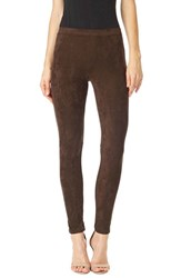 Sanctuary Women's 'Grease' Leggings Rich Chocolate
