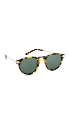 Karen Walker Helter Skelter Sunglasses Vintage Demi