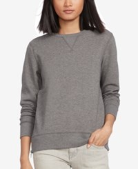 Polo Ralph Lauren Side Zip Sweatshirt Fortress Grey Heather